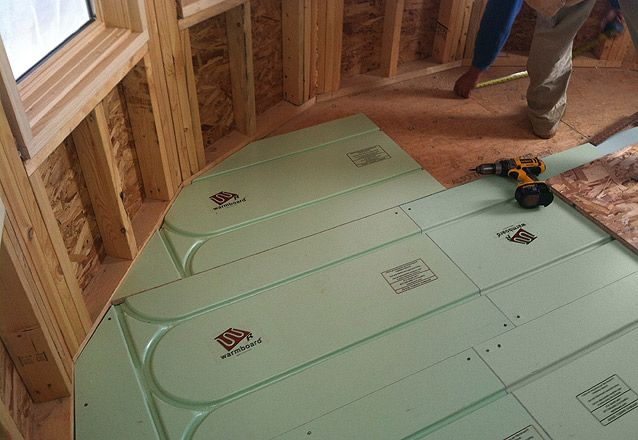 Warmboard R Panel Installation