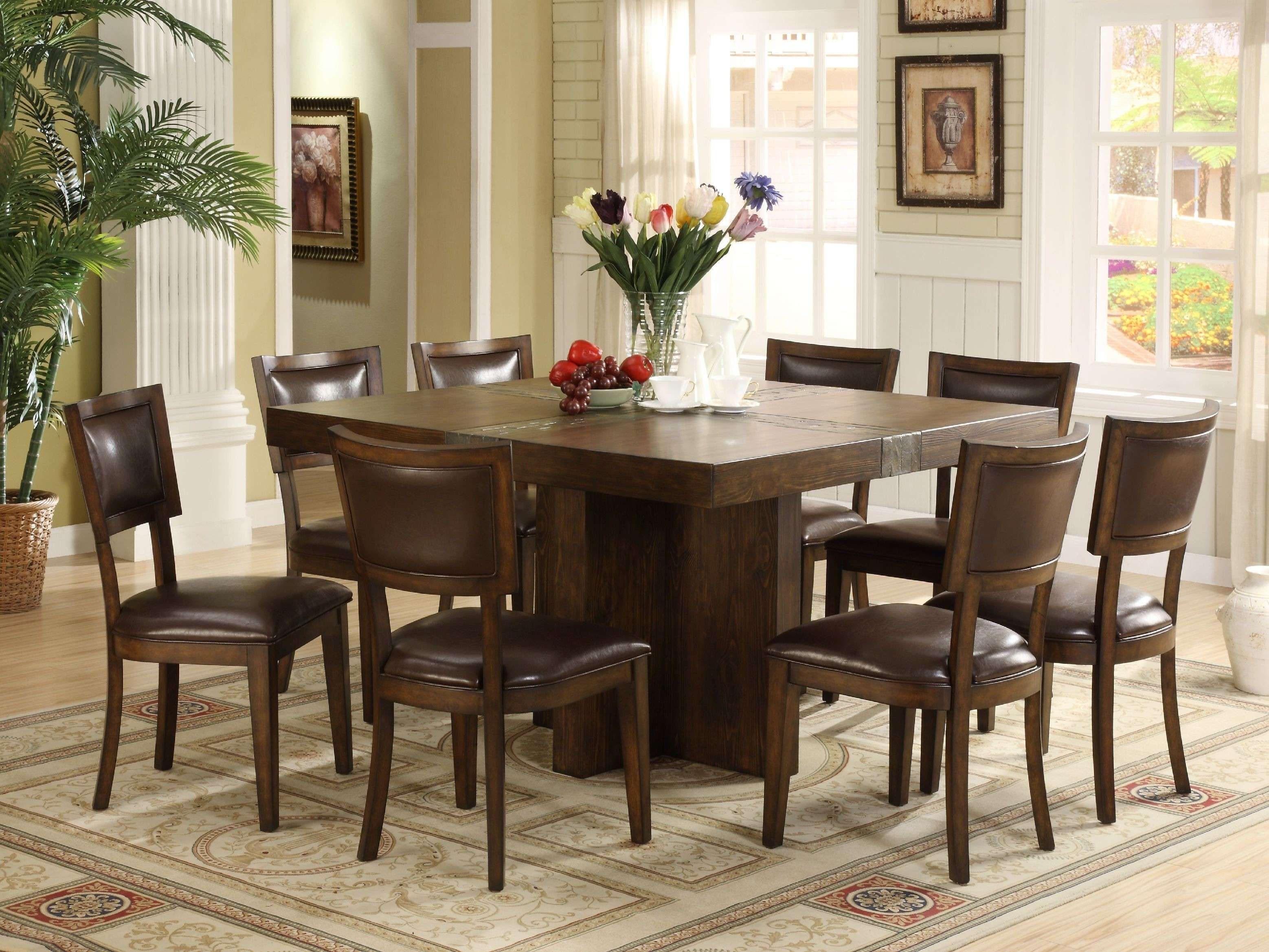 Latest Dining Room Renovations July 2018 Square Dining Room Table Square Dining Tables Dining Table Bases