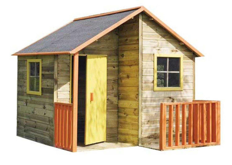 Fancy Kinderspielhaus TOM Kinderhaus Gartenhaus Gartenh user Spielhaus Stelzenhaus f r Kinder Amazon de Baumarkt
