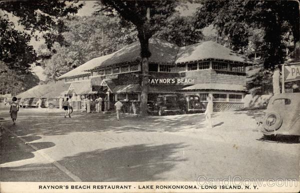 Raynor S Beach Restaurant Lake Ronkonkoma Classic Us