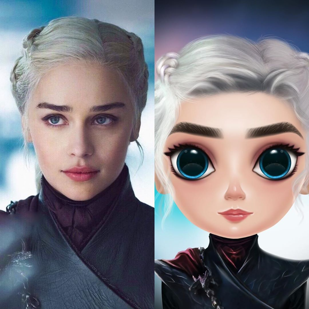 Game Of Thrones Daenerys Targaryen Character Makes With Idolly App Idolly Daenerys Gameofthrones Character Creator Avatar Maker Daenerys Targaryen Character
