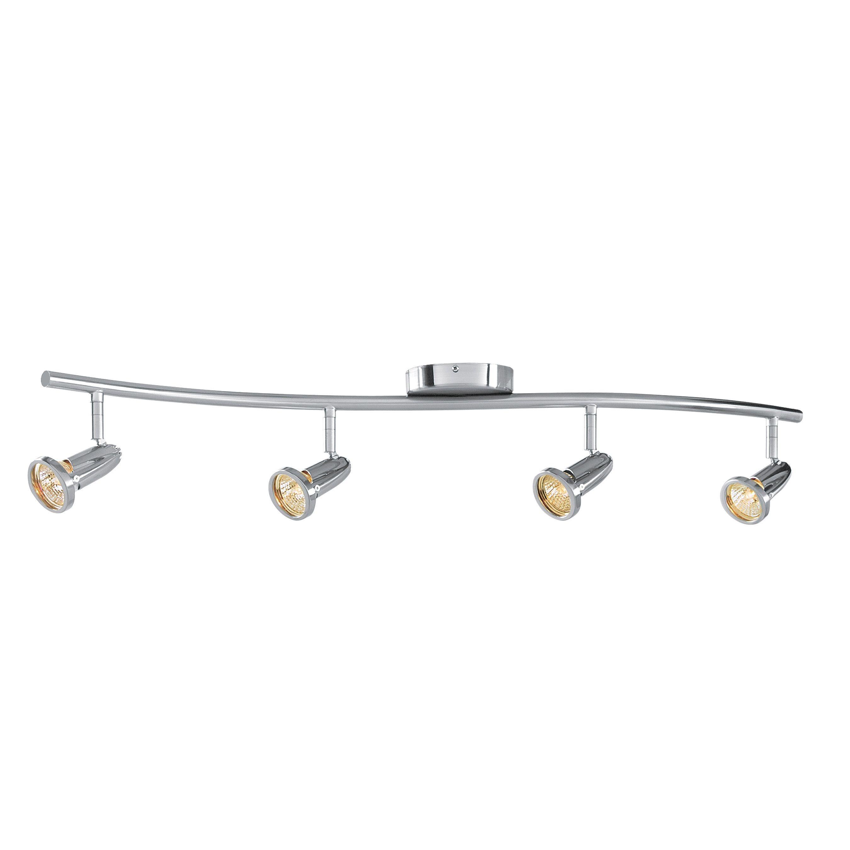 Access Lighting Cobra 4 Light LED Wall/Ceiling Semi-flush Spotlight ...
