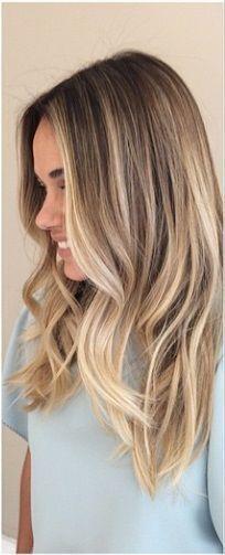 dunkelblondes Haar col #blondehair