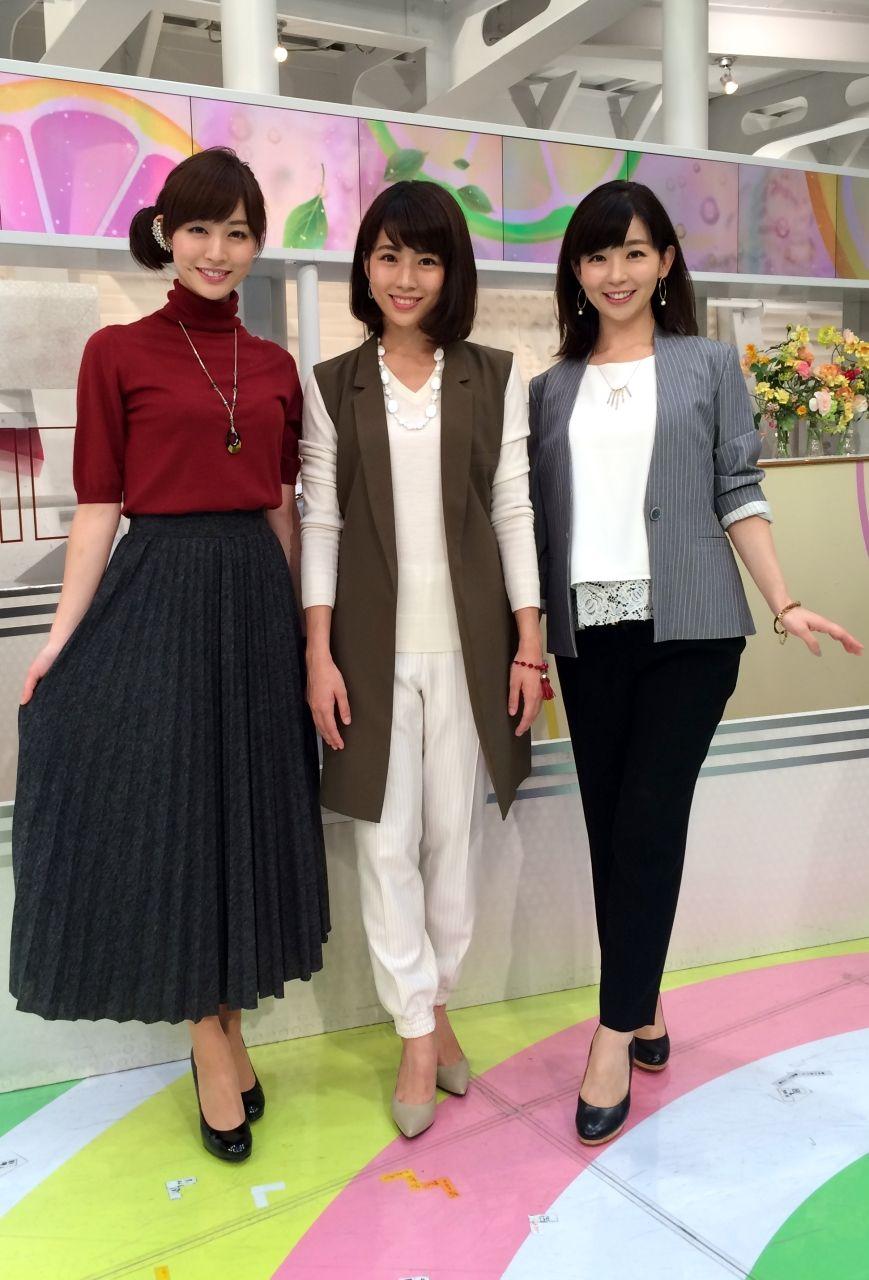 2015/10/23 グッド!モーニング新3姉妹のOggiStyleで、 流行のファッションをチェックしましょう 今日のテーマは『楽ちんイージーボトム』でした