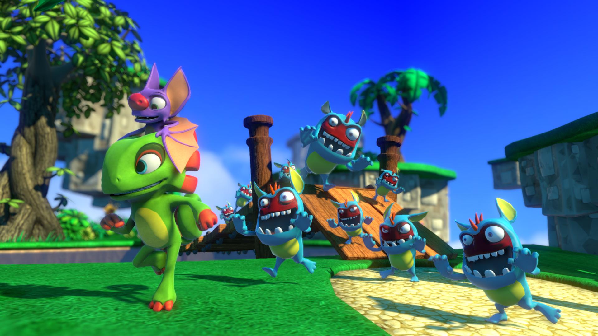 Whimsical Yooka Laylee Debuting At E3 2016 Best Indie Games Banjo Kazooie Banjo