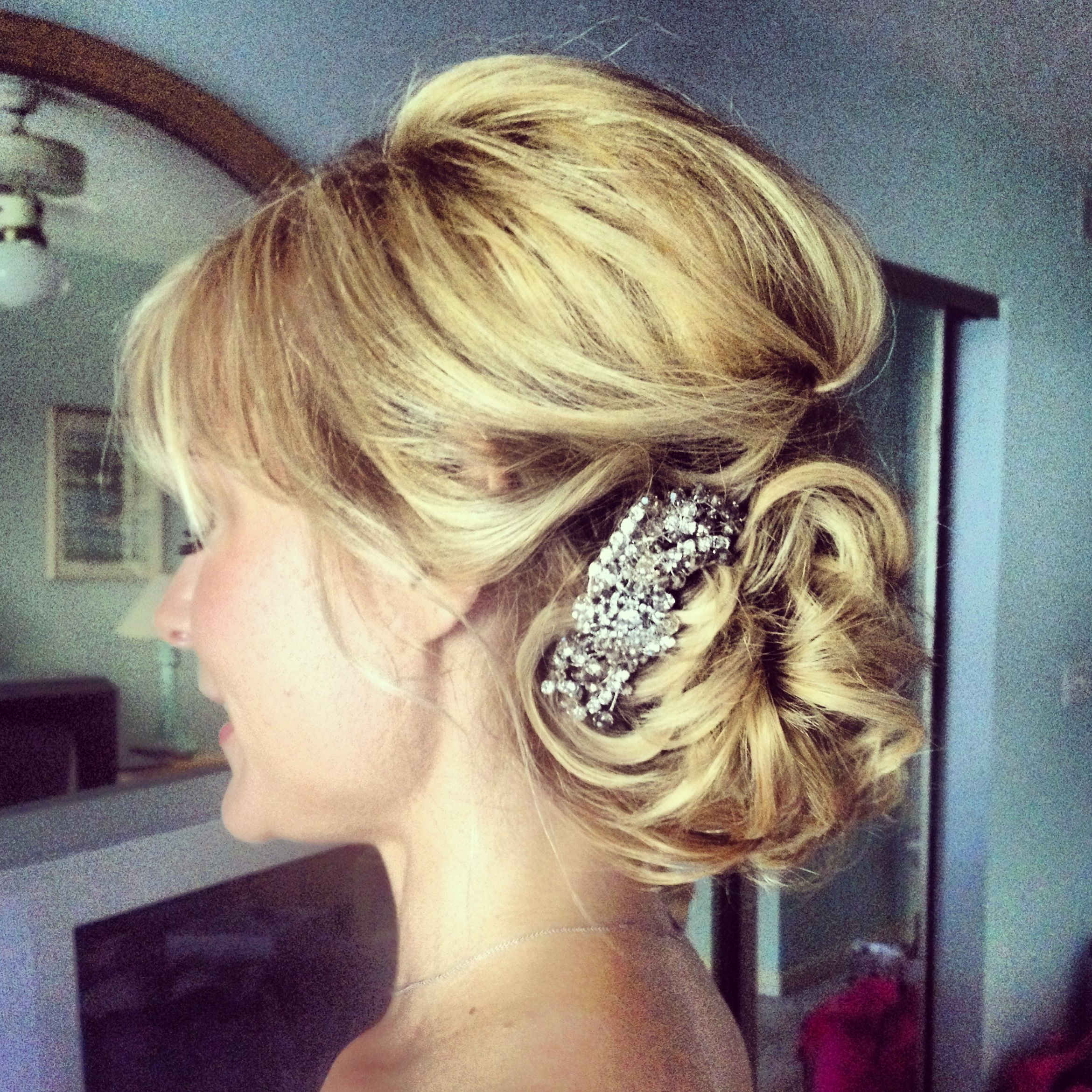 bridal hair. vintage wedding hair. ash and co. charleston sc