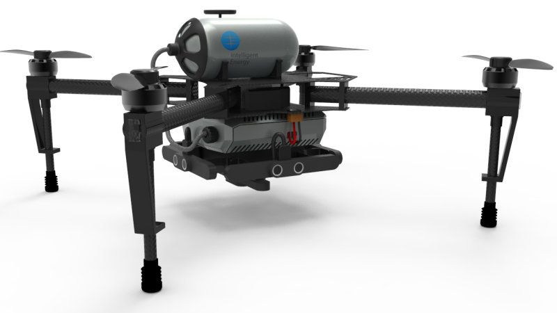 Hydrogen Fuel Cells Give Drones Several Hours Of Flight Time Hydrogen Fuel Cell Fuel Cell Hydrogen Fuel