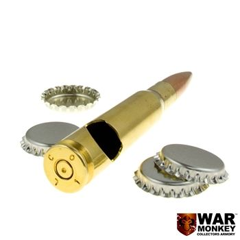 Are you always looking for bottle openers at the party? This 50 cal Bottle Opener is the perfect accessory to have at a police party!