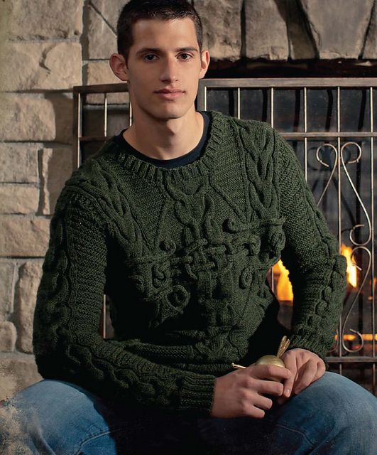Ravelry: Sorcery Sweater pattern by Catherine Salter Bayar