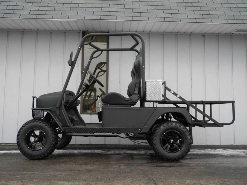 Meet the bad dog this golf car is built on an e z go for Golf cart plans