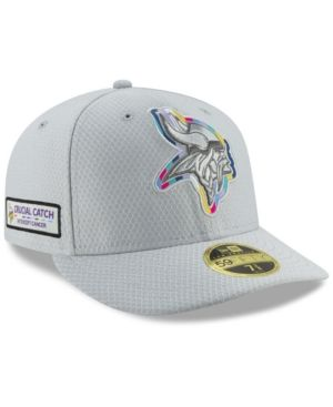 reputable site 38c5e f2833 New Era Minnesota Vikings Crucial Catch Low Profile 59FIFTY Fitted Cap - Gray  7