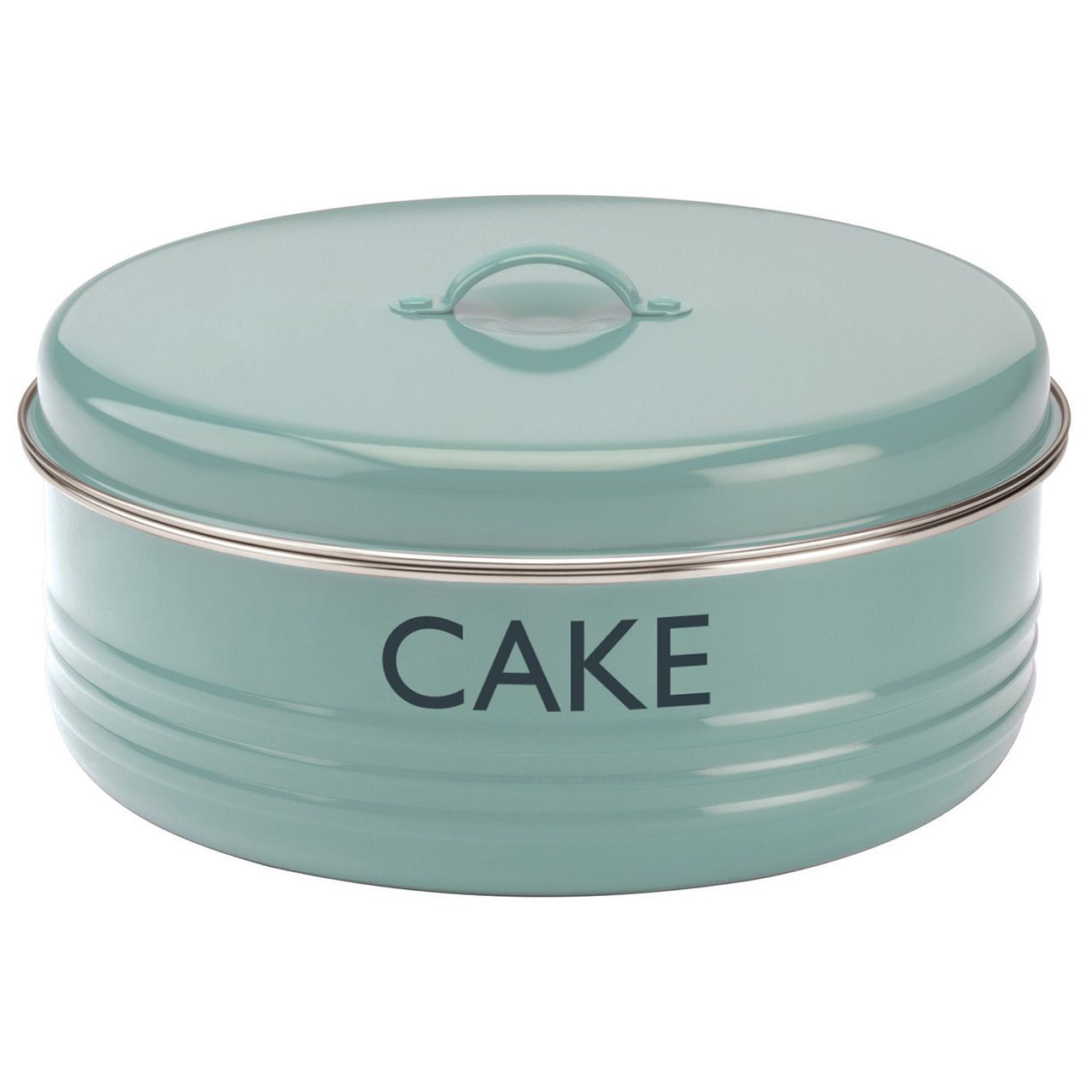 Kitchen Storage   Living U0026 Giving   Typhoon Summer House Cake Tin Blue