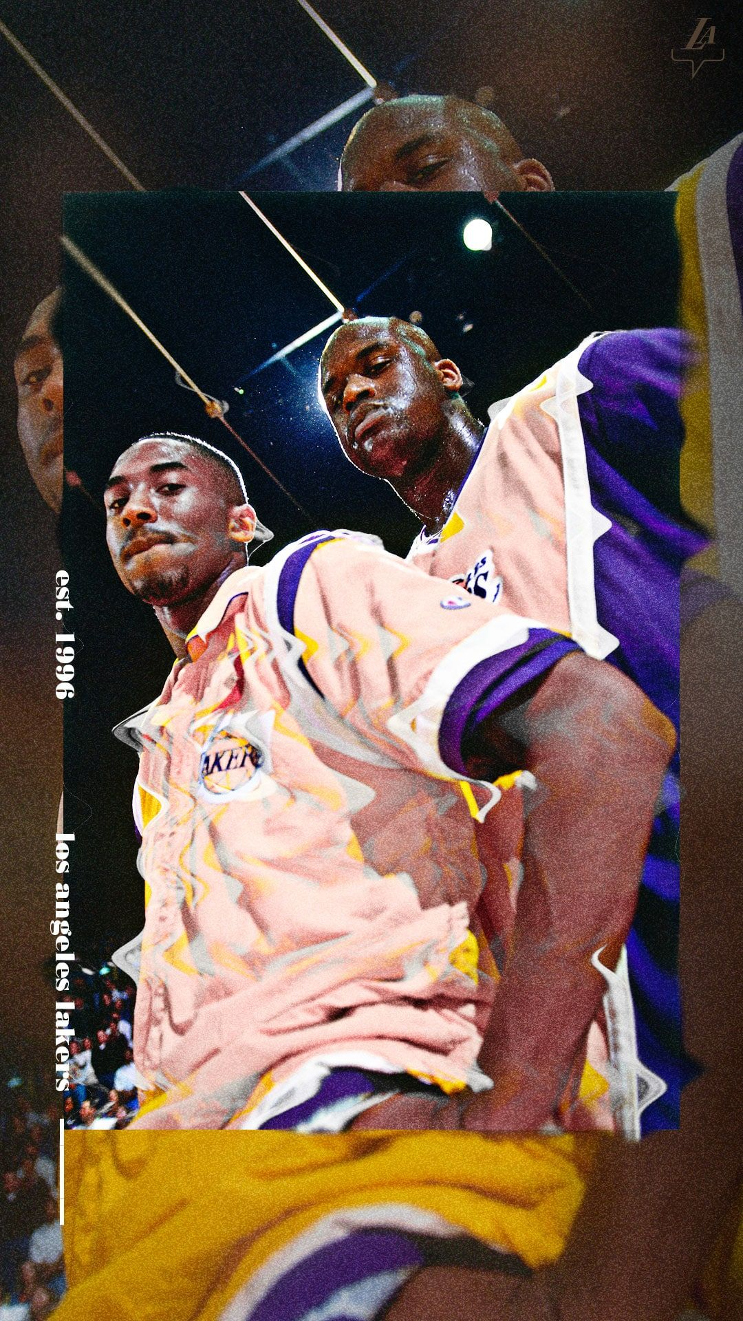 Lakers Wallpapers And Infographics Los Angeles Lakers In 2020 Lakers Wallpaper Nba Background Shaquille O Neal
