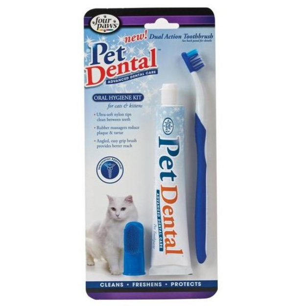 I'm learning all about Four Paws Pet Oral Hygiene Kit For