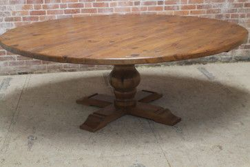 84 Round Dining Table From Reclaimed Pine Craftsman Dining Dining Table Craftsman Dining Tables Round Dining Table
