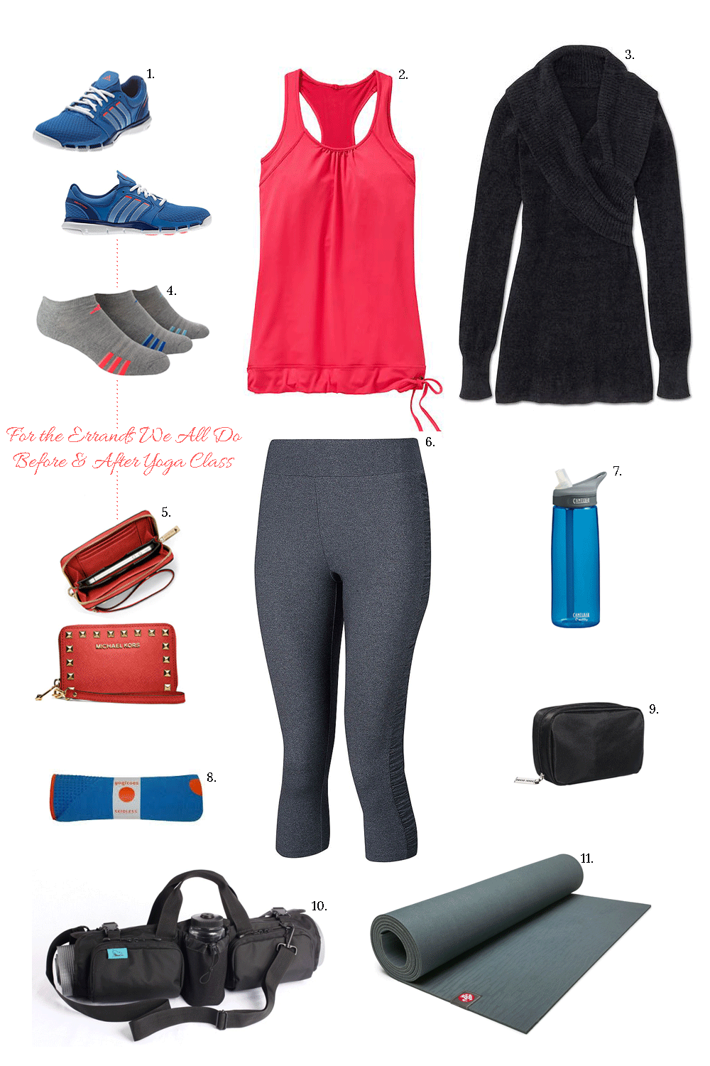 What to Wear to Yoga Class | Yoga mat bag, Yoga and Fitspo