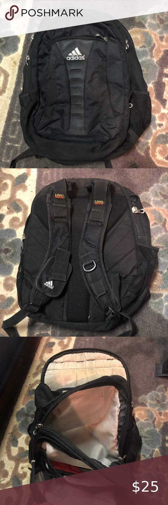 Adidas Backpack Adidas Backpack Black adidas Bags