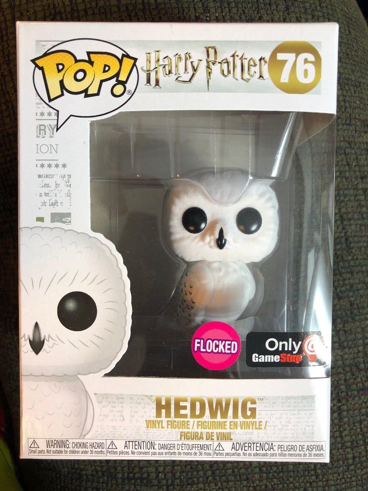 FUNKO POP HARRY POTTER 76 HEDWIG OWL VINYL FIGURE FIGURINE