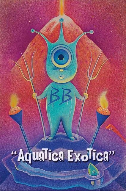 Dave Calver Aquatica Exotica Art Show With Images Art Show