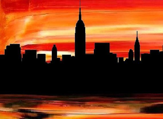 Sunrise Sunset Buffalo New York | New York City art print -Modern ...