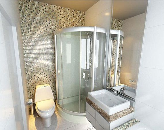 14 fotos de ba os peque os para inspirarte bathroom for Ideas para banos pequenos fotos