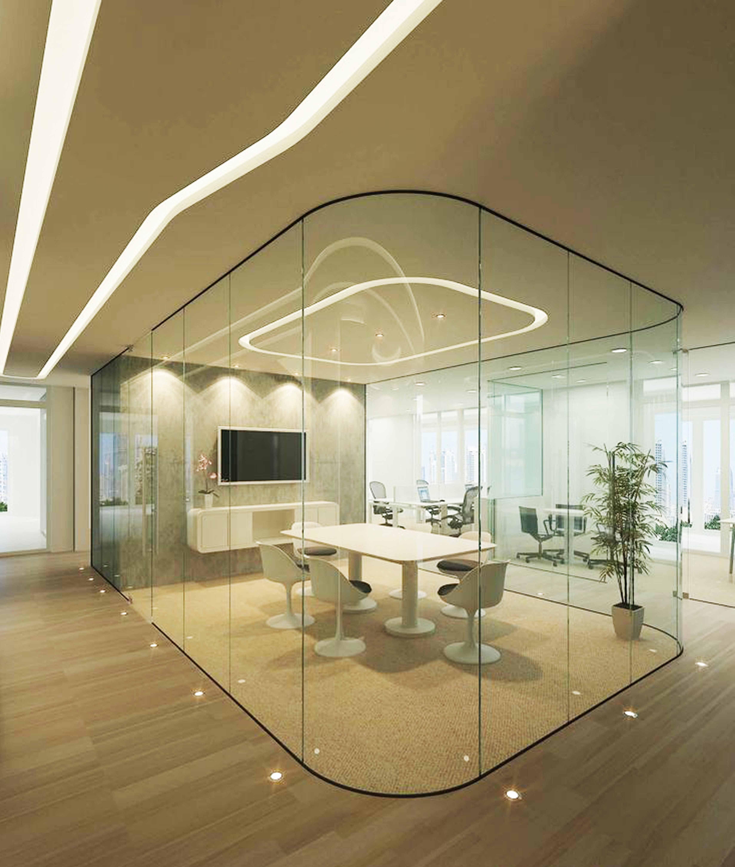 Swiss Bureau Interior Design Company Dubai Uae: Modern Meeting Room Design