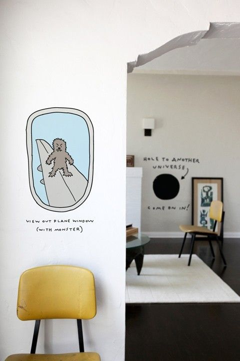 FUNBUS By Dan Golden For Blik. Wall Graphic Designs.   Dangolden.com