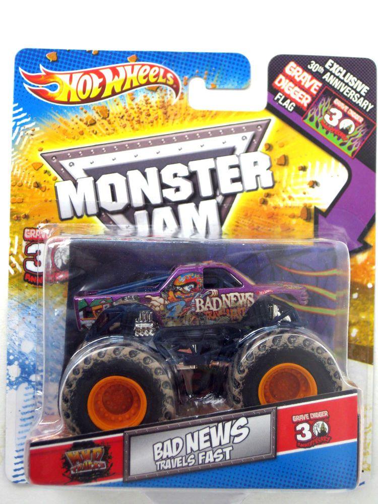 Hot Wheel Monster Jam Bad New 30th Anniversary