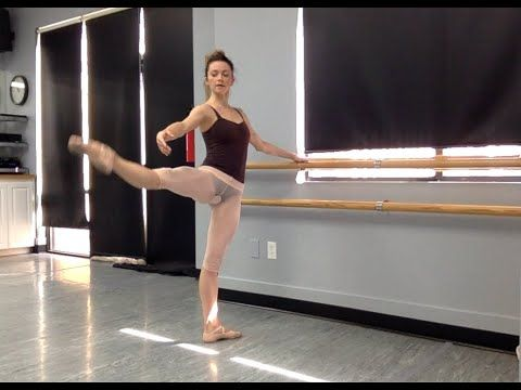 Get off the couch ballet class Int/Adv ballet class