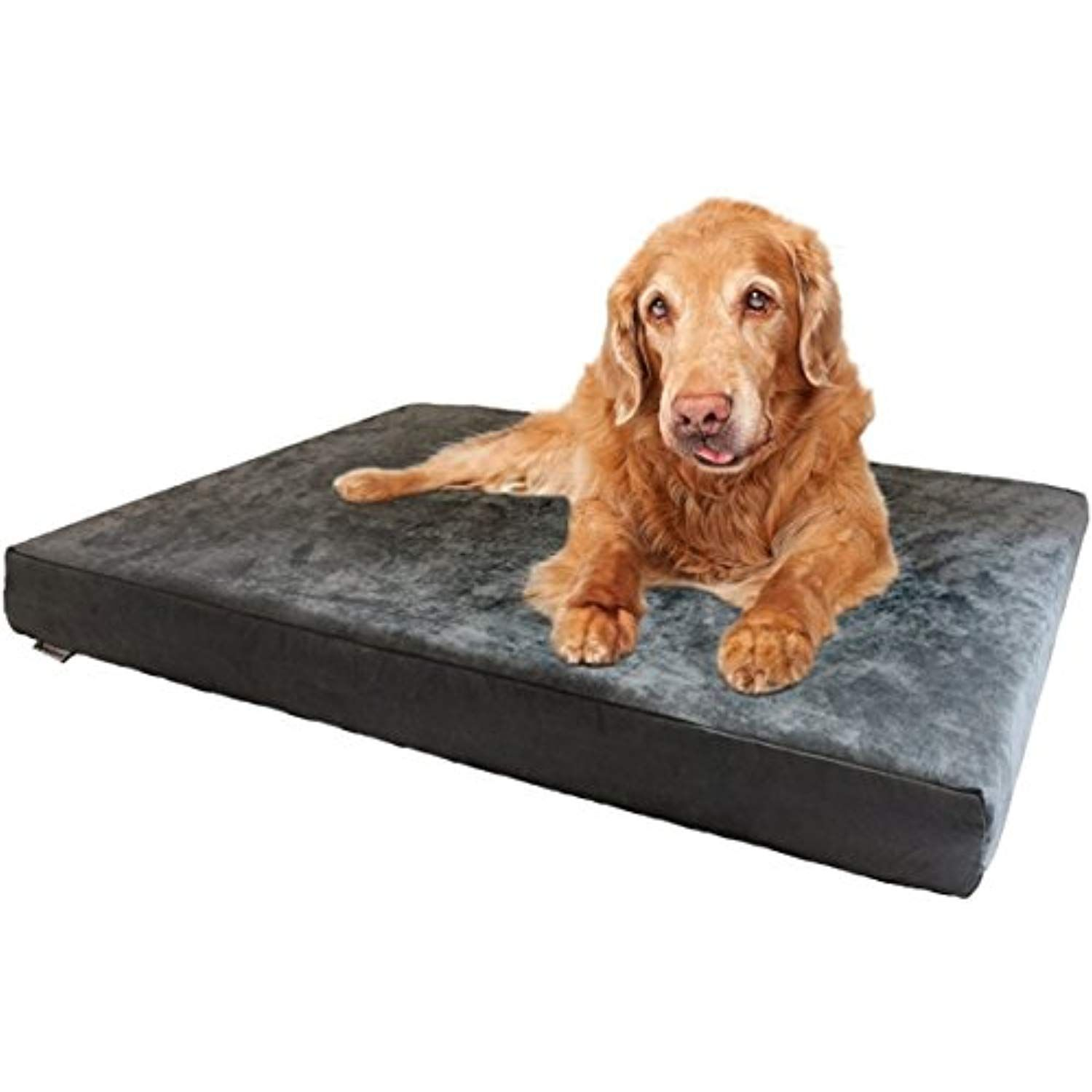 Dogbed4less Xxl Orthopedic Gel Infused Cooling Memory Foam Dog Bed
