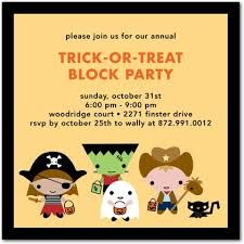 Most wacky invitation wording ideas and samples for your trick r most wacky invitation wording ideas and samples for your trick r treat halloween block party invites at invitationsbyu stopboris Images