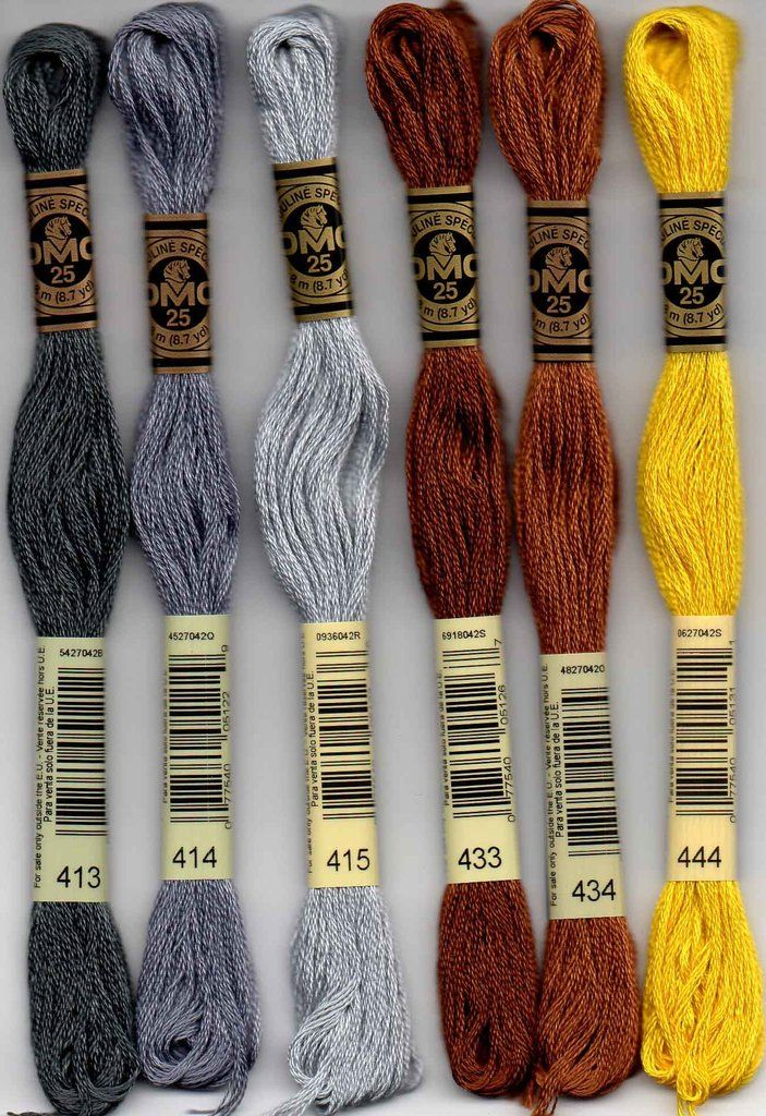 Dmc Embroidery Floss 400 Series Embroidery Cross Stitch And Stitch