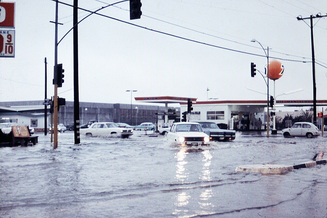 Harbor Blvd At Chapman Ave, Garden Grove, June 1971 Photo Courtesy Orange  County Archives