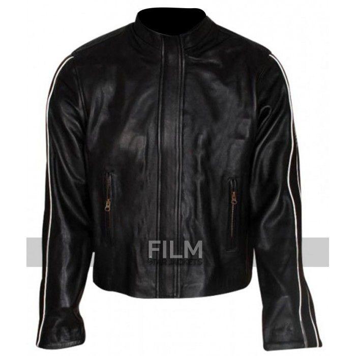 chris evans fantastic four johnny storm black jacket