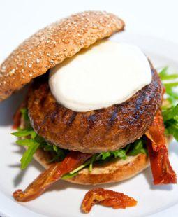 Quorn-hampurilainen-italialaisittain