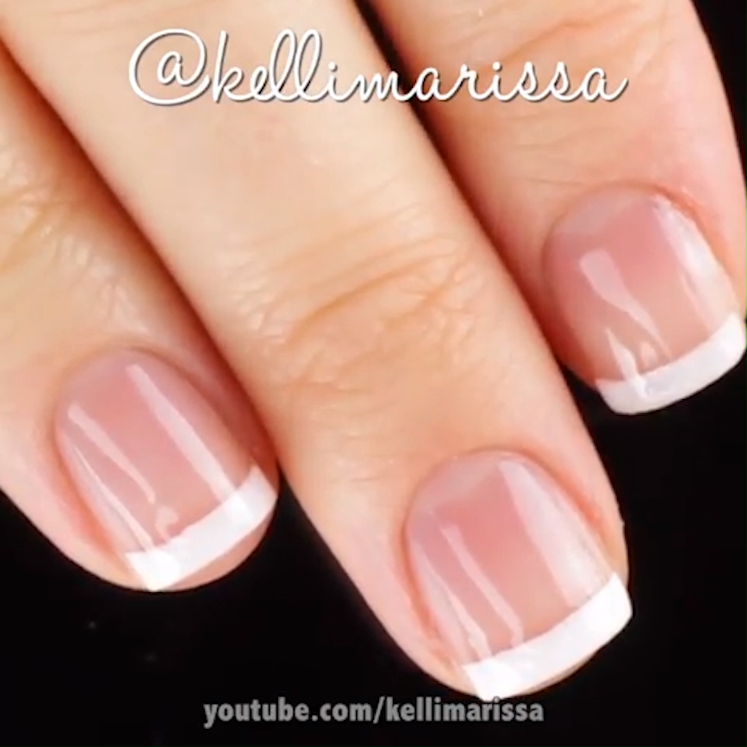 Photo of FRANCESE CLASSICO #frenchnails