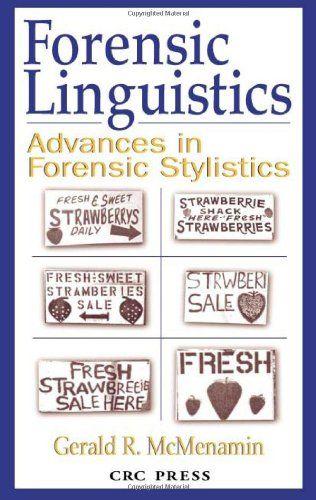 90 Best Forensic Linguistics Images Linguistics Forensics Computational Linguistics