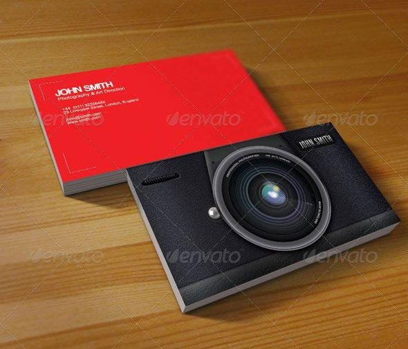 Photographers business card business ideas pinterest photographers business card reheart Images
