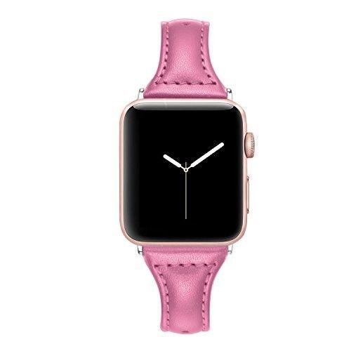 Narrow Apple Watch Band for Women Men Thin Strap 38mm 3 2