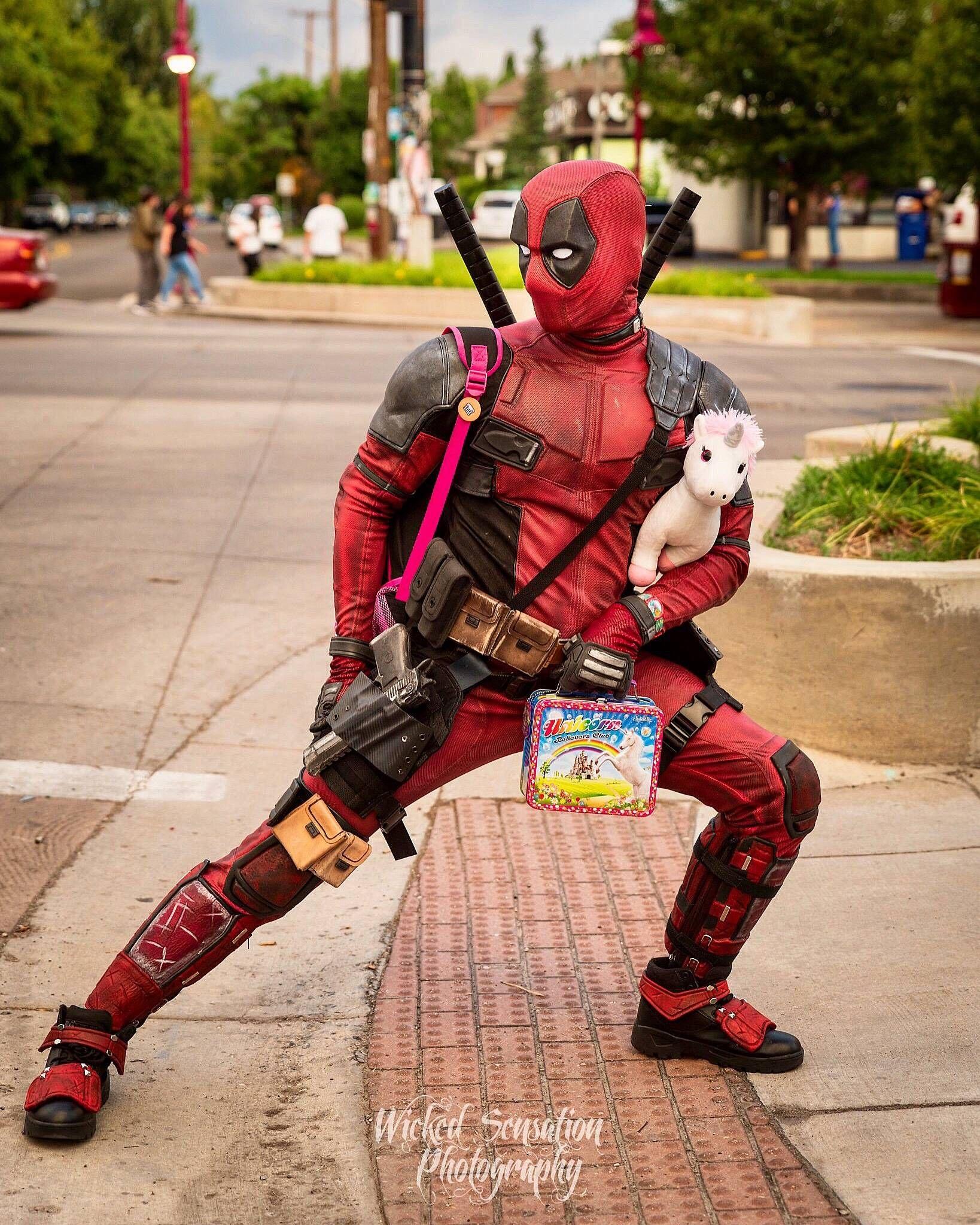 Curbside Pickup Deadpool Cosplay By Deadpool Mateo Cosplay