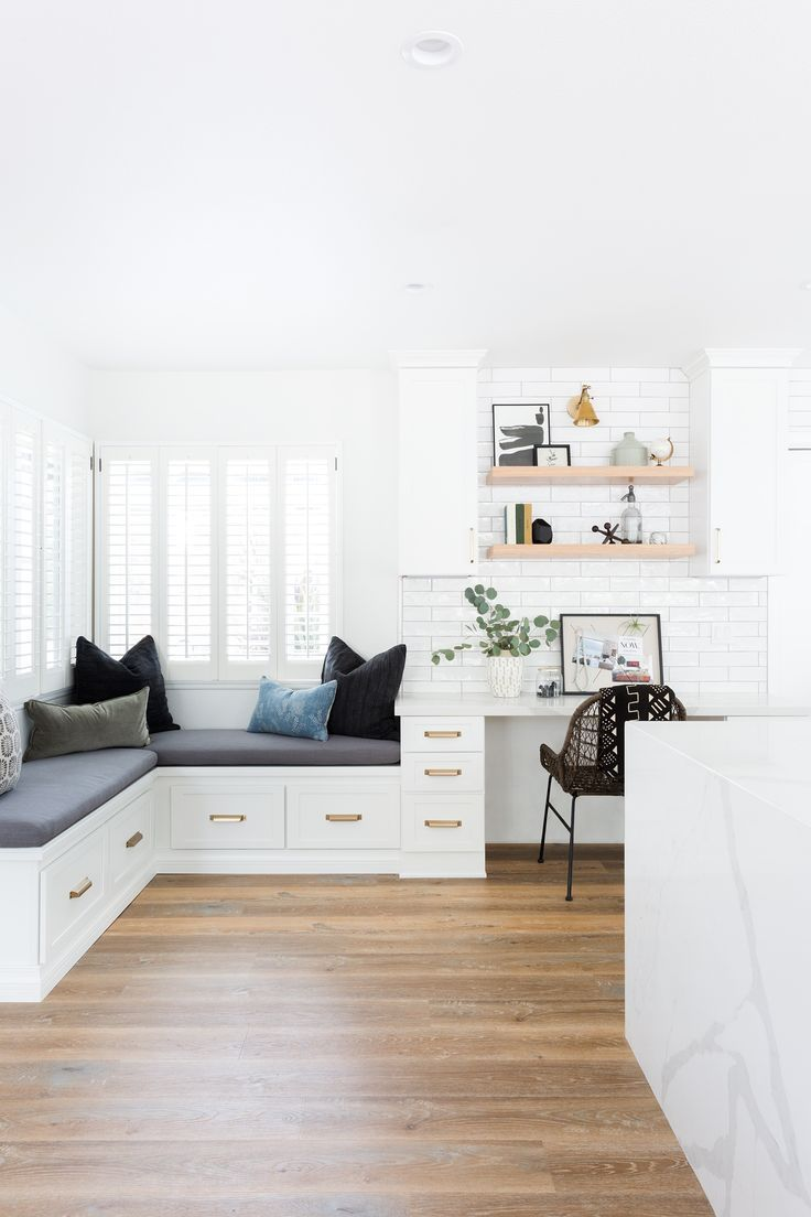 10x10 Office Layout: Family Room + Breakfast Nook
