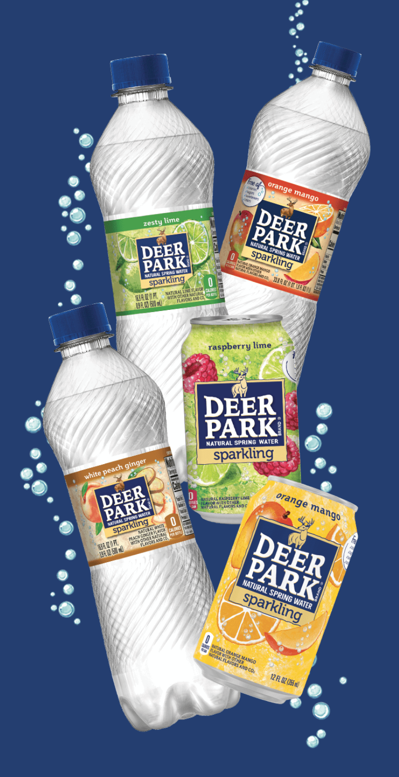 Free 8 Pack Of Deer Park Brand Sparkling Natural Spring Water Natural Spring Water Free Stuff By Mail Deer Park Water