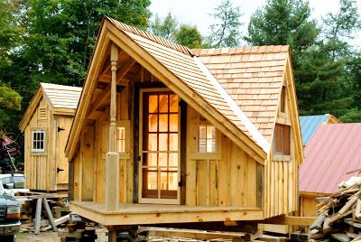 House building also relaxshacks the writer   haven tiny guest cabin photo rh pinterest