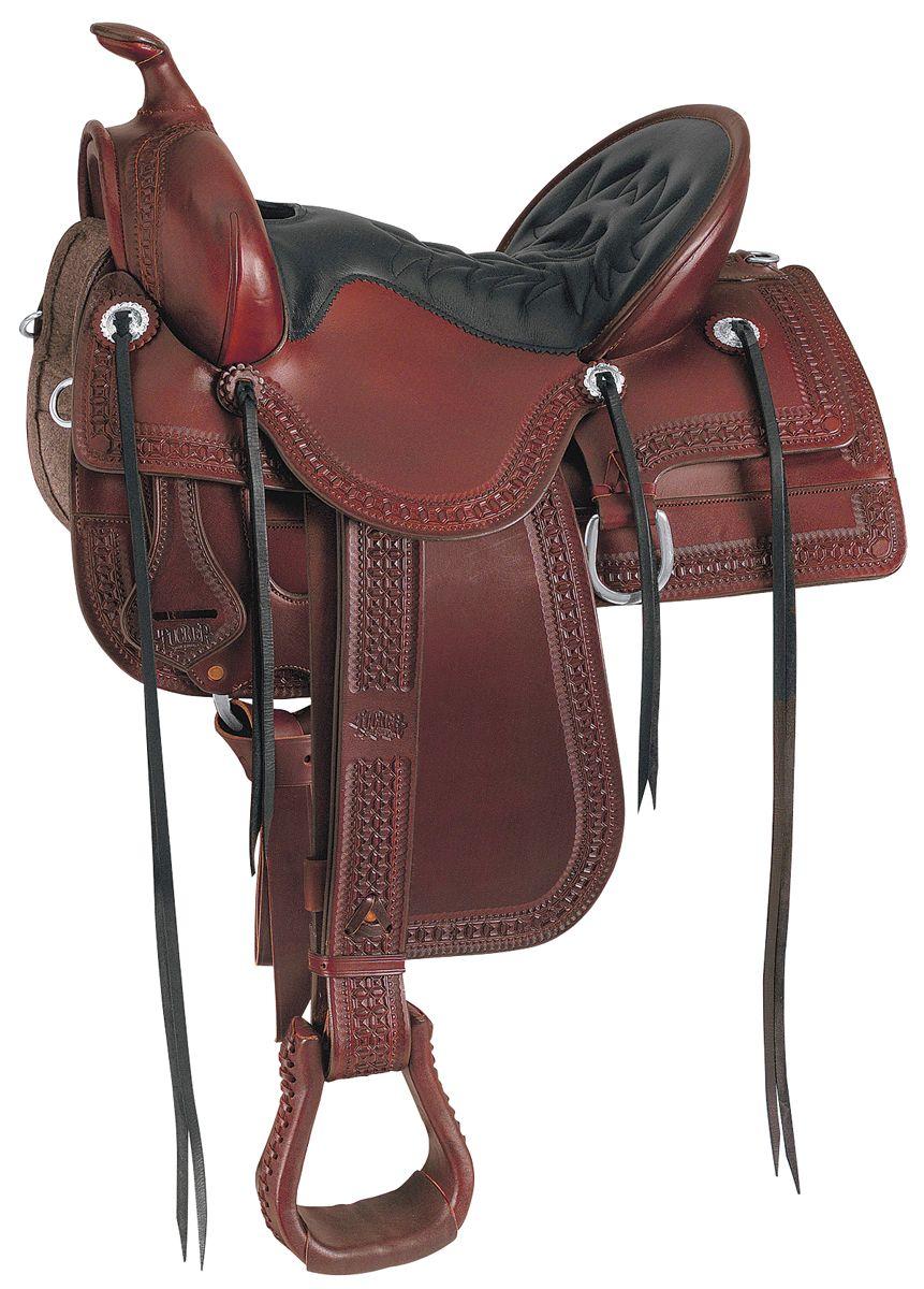 Western Saddles Old West Trail Saddle Tucker Saddlery