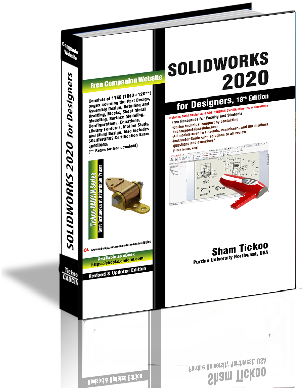 Solidworks 2020 For Designers 18th Edition In 2020 Solidworks Book Design Design