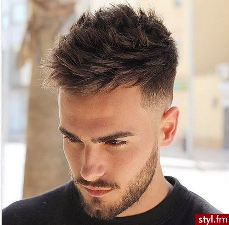 Męskie Fryzury 2018 Fryzury W 2019 Hair Cuts Haircuts For Men I