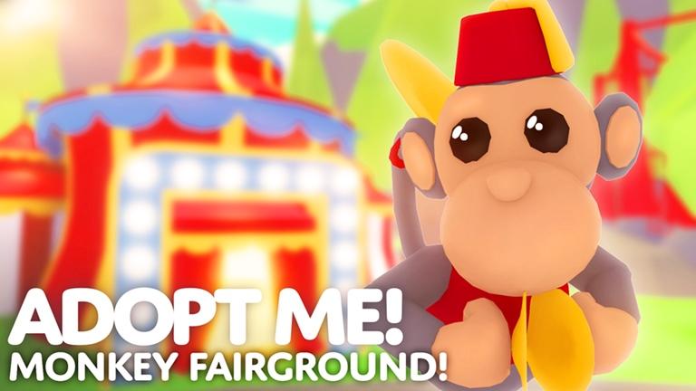 72 Monkey Adopt Me Roblox In 2020 Roblox Adoption Popular Games