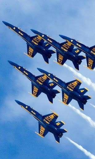 Blue Angels Wallpapers For Android By Mee Henrici Blue Angels Air Show Us Navy Blue Angels Blue Angels