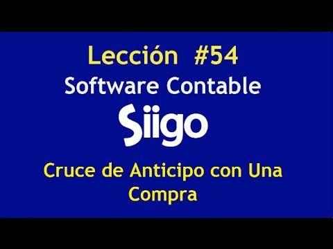 598. Lección # 54 Cruce de Anticipo con Una Compra. https://www.youtube.com/watch?v=isNmQ77vL3s