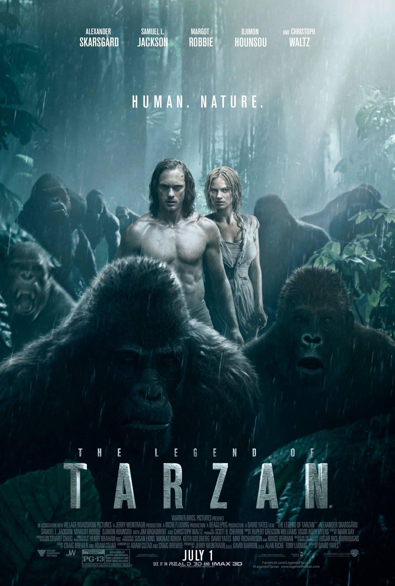 The Legend of Tarzan - ComingSoon net | Movie Posters em